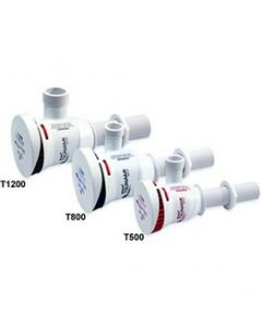 """Attwood Tsunami T800 800 GPH Cartridge Livewell Aerator Pump; 3/4"""" Dia. Inlet, Single 3/4"""" Dia. outlet; with 29"""" Wire"""