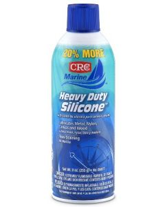 CRC Heavy Duty Silicone Lubricant, 7.5oz