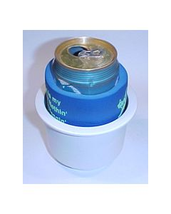 Beckson Marine, Recessed Super Cup Holder, White, Recessed Cup Holders