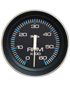 """Faria Coral Instruments Tachometer, 6000 RPM, 4"""" for Inboard and I/O"""