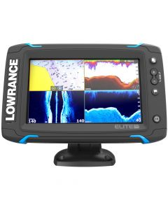 Lowrance Elite-7 Ti Touch Combo w/TotalScan Transom Mount Transducer andNavionics+ Chart 000-12721-001