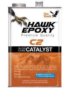 Seahawk Slow Cure Catalyst Size 3, .87 GL - Hawk Epoxy