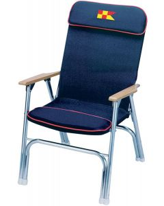 Garelick Padded Deck Chair, Black