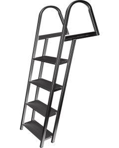 JIF Marine, LLC 4 Step Ladder, Aluminum, Mounting Hardware Included - Jif Marine