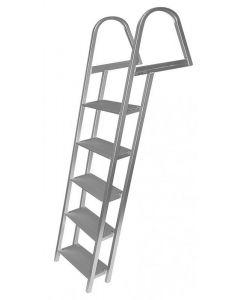 JIF Marine, LLC 5 Step Ladder, Aluminum, Mounting Hardware Included - Jif Marine
