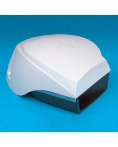 AFI White Compact Electric MiniBlast Boat Horn