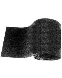 "Dorsett Bunk Carpet, 12"" X 12', Black"