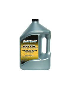 Quicksilver 25W40 Synthetic Blend Marine Engine Oil,  Gallon