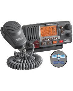 Cobra MR F77W Fixed Mount Class D VHF Radio Black
