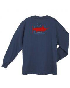 Guy Harvey Men's Logo Long Sleeve T-Shirt