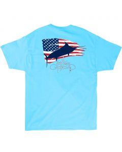 Guy Harvey Men's Patriot Short Sleeve T-Shirt