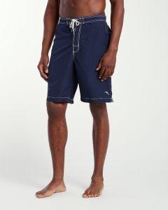 Tommy Bahama Men's Baja Poolside 9-Inch Board Shorts Blue Note M