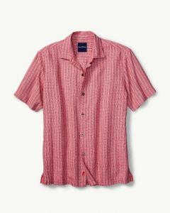 Tommy Bahama Men's Geo Getaway Camp Shirt