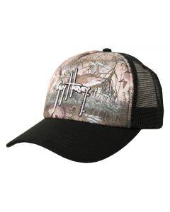 Guy Harvey Men's Edge Camo Trucker Hat