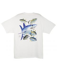 Guy Harvey Men's Mako Shark Short Sleeve T-Shirt
