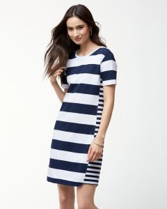 Tommy Bahama Women's Thera Stripe Short Dress
