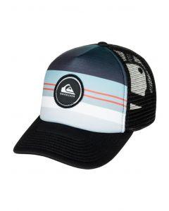 Quiksilver Men's Striped Vee Trucker Hat
