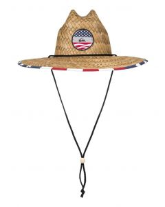 Quiksilver Men's Outsider Straw Lifeguard Hat