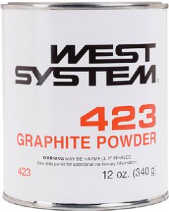 West System 12 Oz 423 Graphite Powder Additive