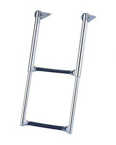 Garelick 3 Step Over Platform Telescoping Drop Ladder Telescoping Boat Ladders