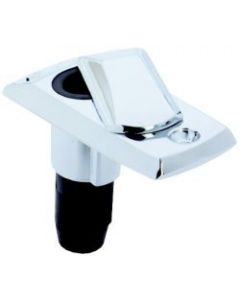 Attwood Zamak Angled All-Round Boat Light Base for Standard Poles, In Package