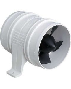 Attwood Turbo 4000 Blower, Water-Resistant, 12-volt, White