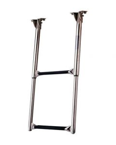 Garelick 2 Step Out Of Sight Under Platform Telescoping Ladder