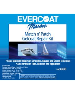 Evercoat Match N Patch Gelcoat Repair Kit