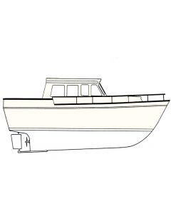Interlux Brightside Polyurethane Boat Paint, Blue Glo White, QT