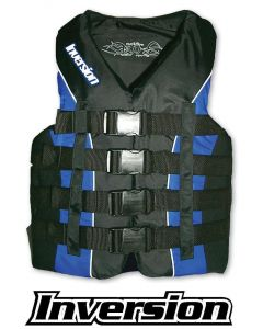 "Kent 3XL, Nylon/Neo, Blue/Black, 52-56"""