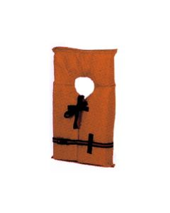 Child 50-90 lbs Nylon/Foam Life Jacket/Vest Orange Type II -Kent