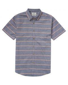 Billabong Men's Flat Lines Short Sleeve Shirt