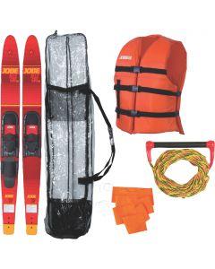 Jobe 208817101 Allegre Combo Skis / Includes Rope, Flag, Vest & Bag
