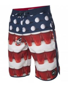 O'Neill Men's Beerpong Scallop 24-7 Boardshorts