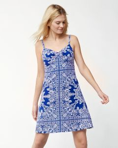Tommy Bahama Women's Crete Tiles Sundress