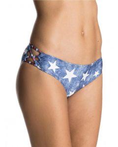 Roxy Women's Star Day Strappy Love 70'S Bikini Bottoms