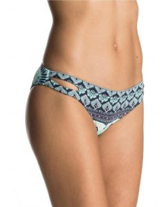 Roxy Women's Print Strappy Love Scooter Bikini Bottoms