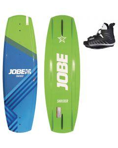 Jobe Shocker 138 Wakeboard 5 to 8 Shoe Size Set