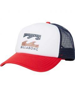 Billabong Men's Podium Americana Trucker Hat