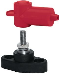 Blue Sea Systems PowerPost Mini High Amperage Cable Connector, #10-32X5/8 Stud