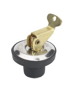 """Moeller Brass Deck and Baitwell Plug, 9/16"""""""