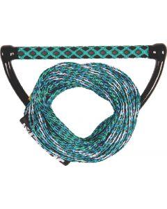 Jobe 211317012 Blue Wakeboard Combo 55' EVA Grip Transfer Rope