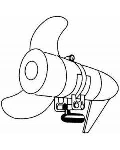 Rig Rite Trolling Motor Transducer Bracket