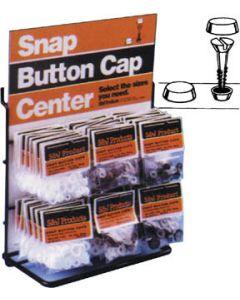 S&J #6 & #8 Snap Button Cap, White - S & J Products