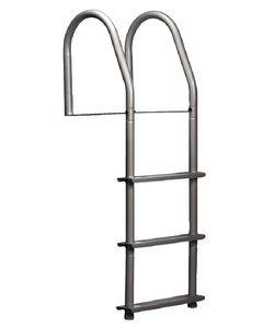 Dock Edge Dock Ladder, 3 Steop, Welded, A