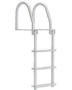 Dock Edge 3-Step Flip-Up Ladder, Complete