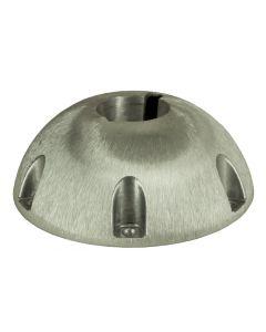 Springfield 9 Taper-Lock Round Surface Mount Satin Seat Pedestal Base
