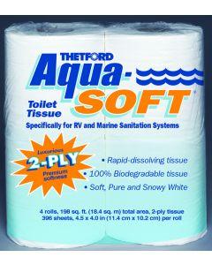 Thetford Aqua Soft Marine Toilet Tissue, 4PK