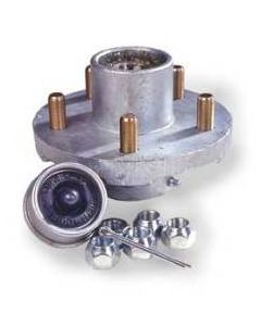 """Tie Down Engineering Super Lube Replacement Hub Kit Assembly, 5-Bolt, 1-1/16""""x1-3/8"""""""