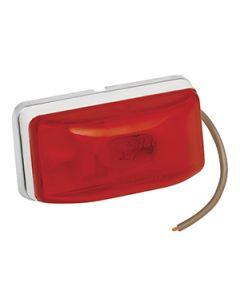 Wesbar Waterproof Combination Side Marker & Clearance Light, Stud Mount, Red